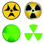Radioisotope Clip Art.