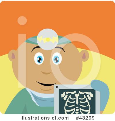 Radiologist Clipart #43299.