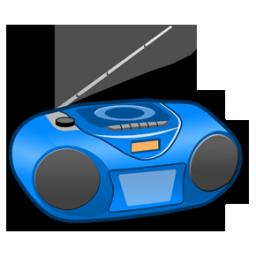 Radio music clipart.
