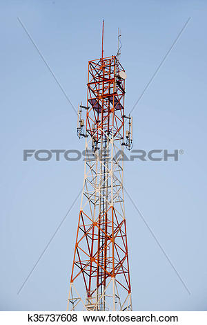 Pictures of Communications antenna, radio, telephone k35737608.