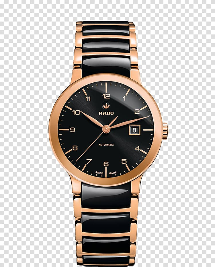 Rado Centrix Automatic watch Jewellery, watch transparent.