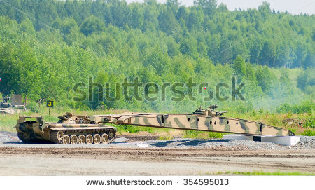 Armoured Bridge Stock Photos, Royalty.