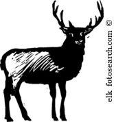 Elk Clipart Vector Graphics. 2,675 elk EPS clip art vector and.