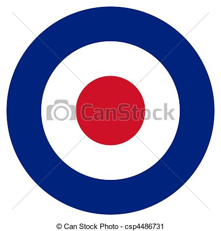 Clipart of RAF Roundel.