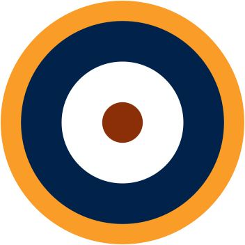RAF Type A1 Roundel Variant. In 1940, the yellow.