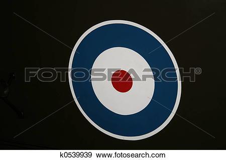 Stock Photograph of RAF Roundel k0539939.