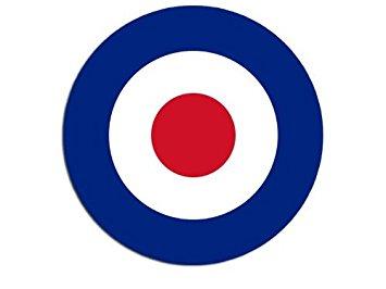 Amazon.com: Round British RAF Royal Air Force Roundel Sticker.