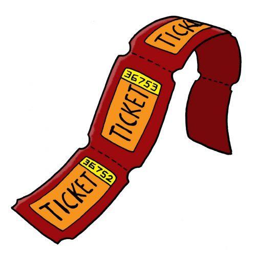 Raffle Ticket Clipart.