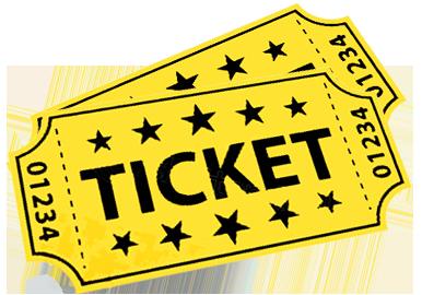 Red Raffle Ticket Clip Art.