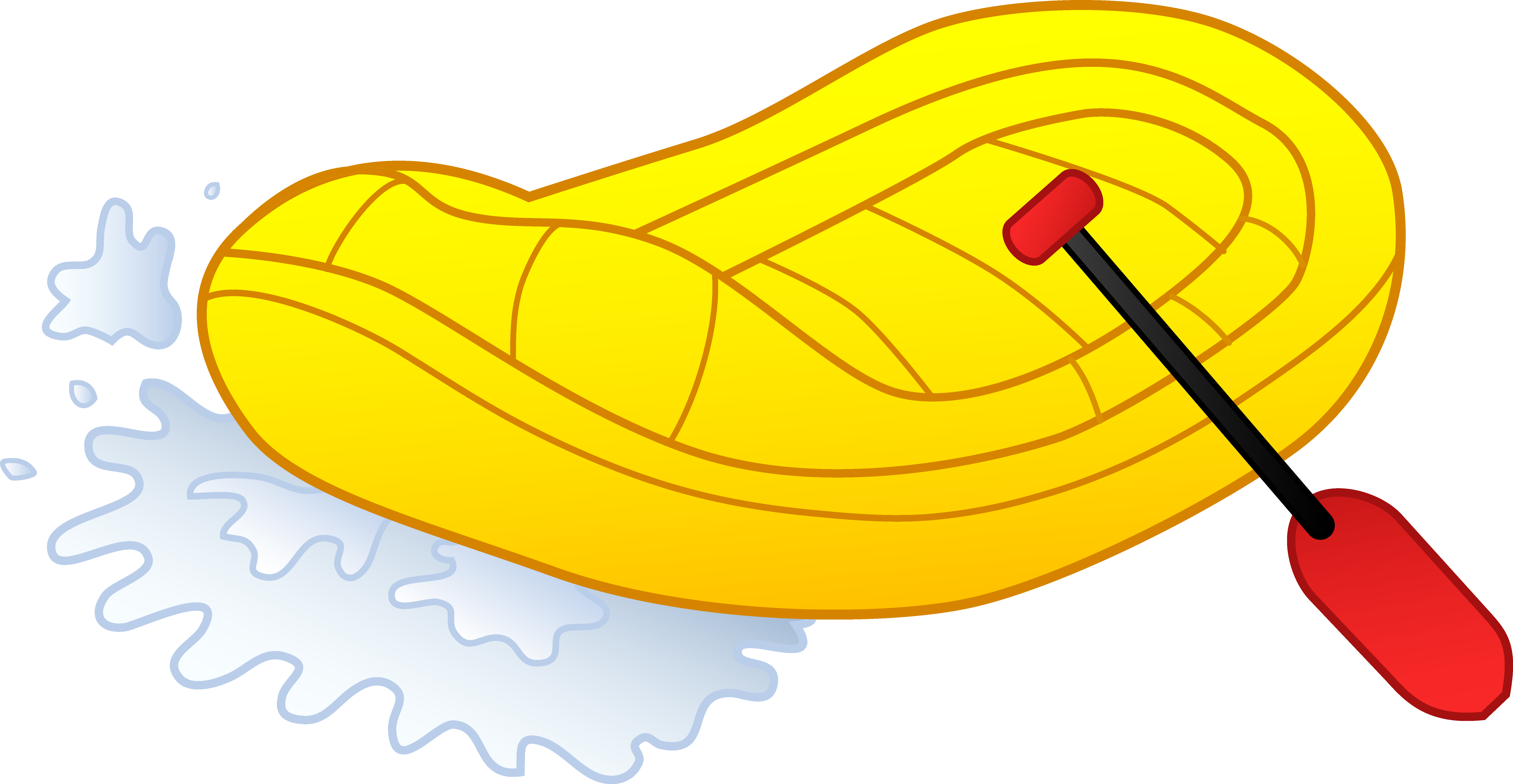River raft clipart.