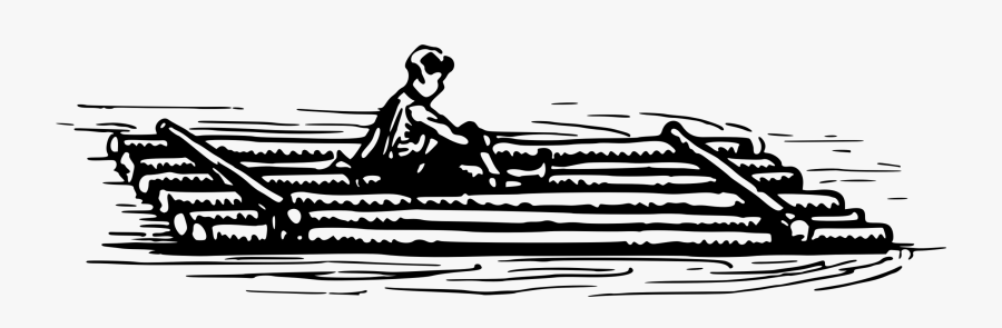 Raft Clipart Black And White , Free Transparent Clipart.