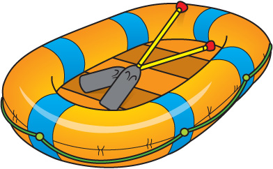Life Raft Clipart.