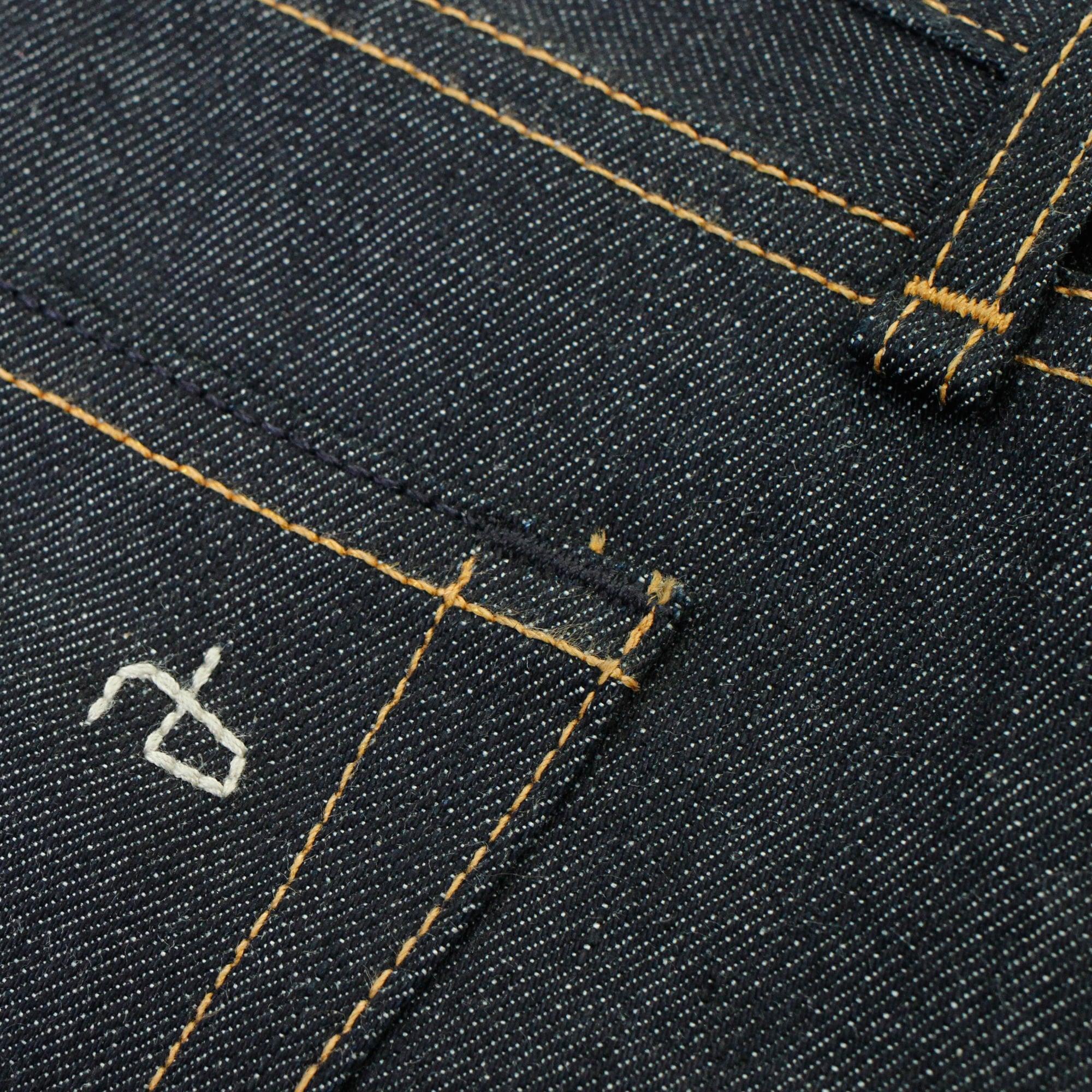 Rag & Bone Rag and Bone Fit 2 Raw Selvedge Denim Jeans M1224K906.