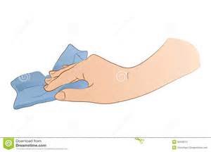 Cleaning Rag Clipart.