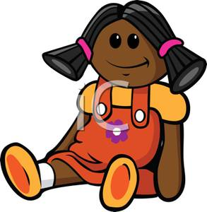African American Rag Doll.