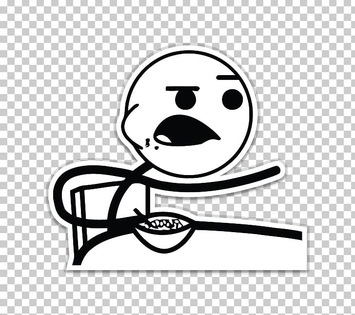 Rage Comic Internet Meme Sticker PNG, Clipart, Area, Black.