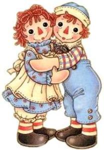 Raggedy Ann Doll Clipart.