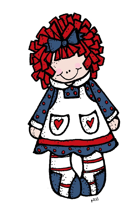Raggedy Ann And Andy Clip Art free image.