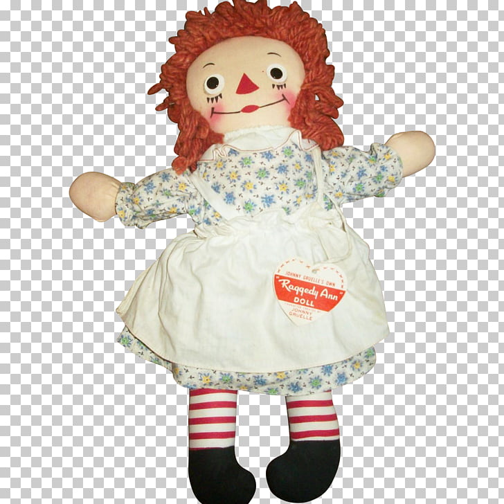 Raggedy Ann Doll National Toy Hall of Fame Antique, doll PNG.