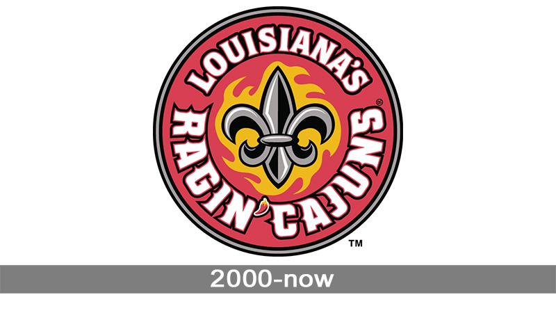 Louisiana Ragin\' Cajuns Logo.
