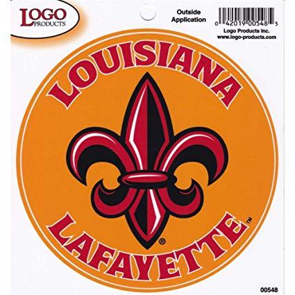 Amazon.com : Louisiana Lafayette Ragin Cajuns Fleur De Lis.