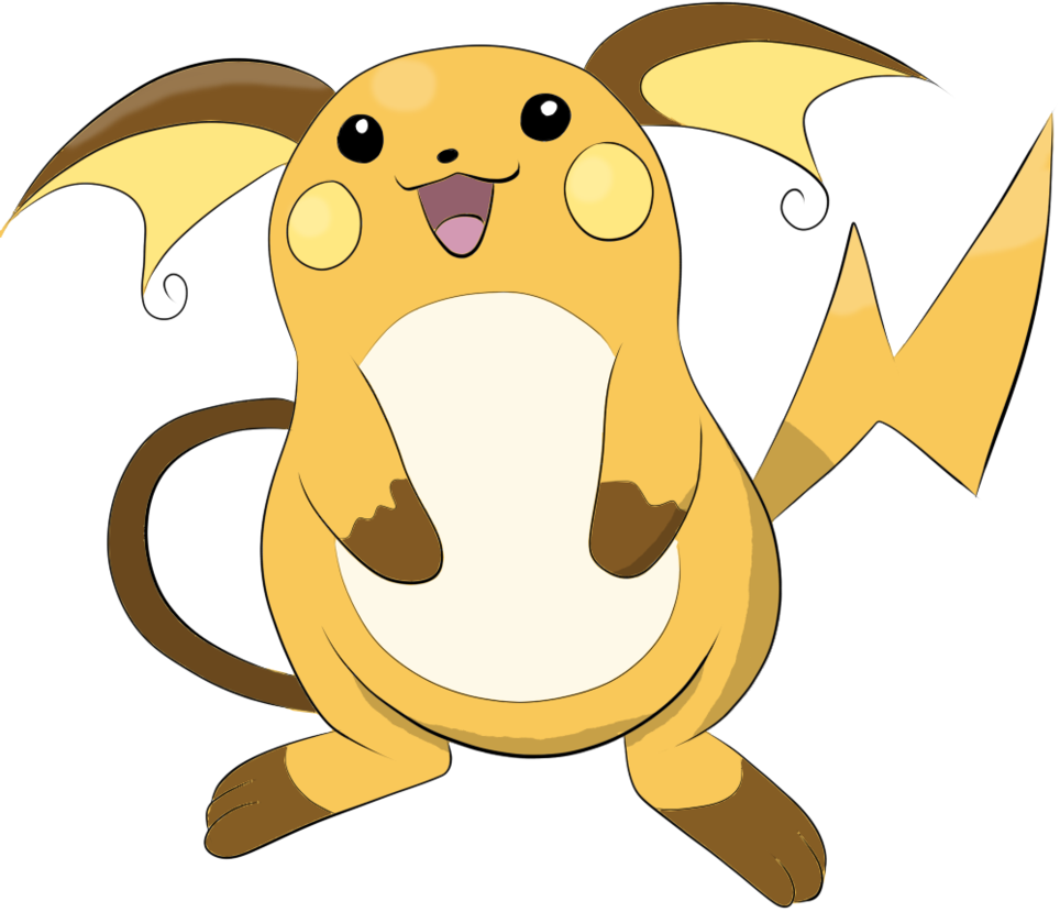 Raichu by BlackVictini on DeviantArt.
