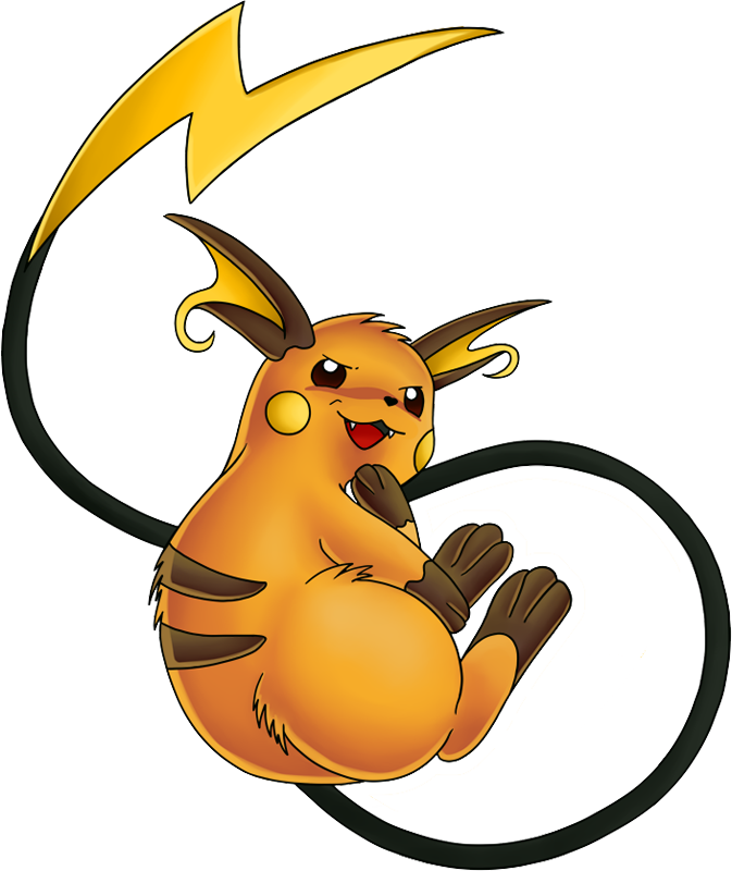 Shiny Raichu Pokédex: stats, moves, evolution, locations & other.
