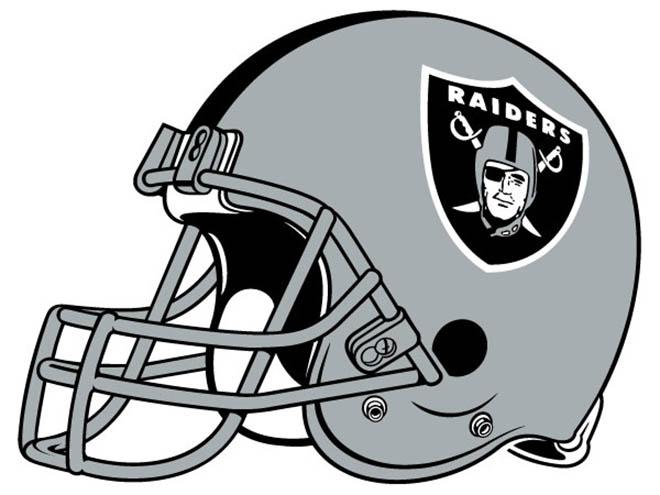 Raiders helmet Logos.