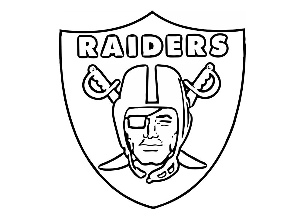 Meaning Oakland Raiders logo and symbol.
