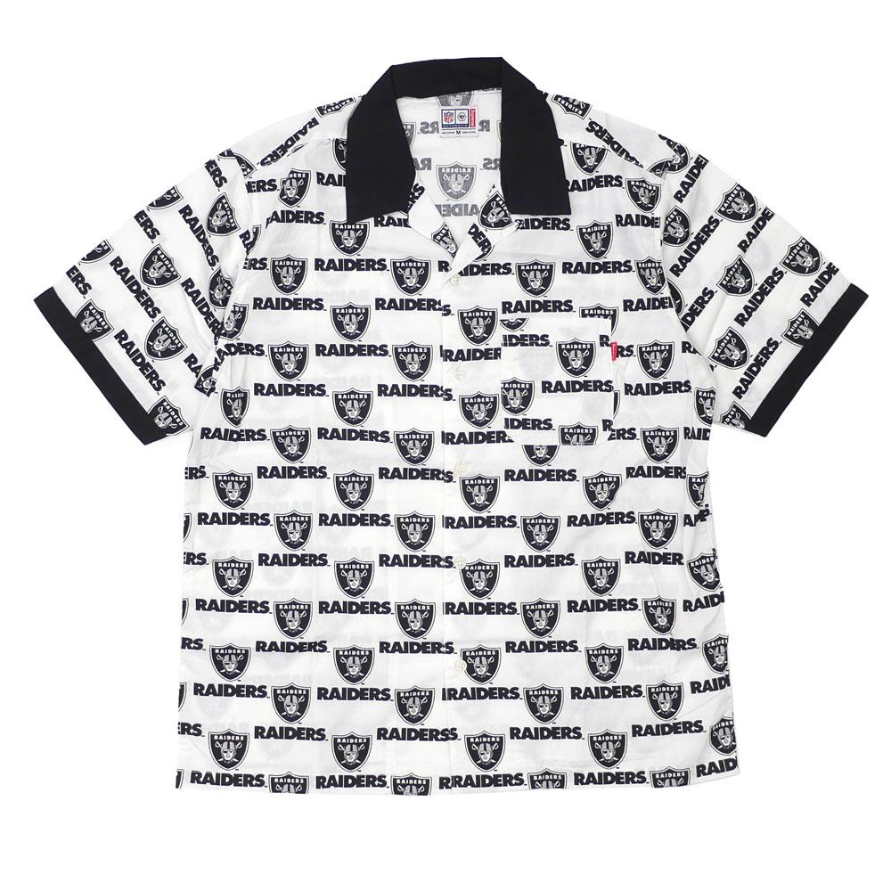 New シュプリーム SUPREME 19SS NFL Raiders \'47 Brand S/S Shirt Raiders short  sleeves shirt WHITE white white men new work 2019SS.