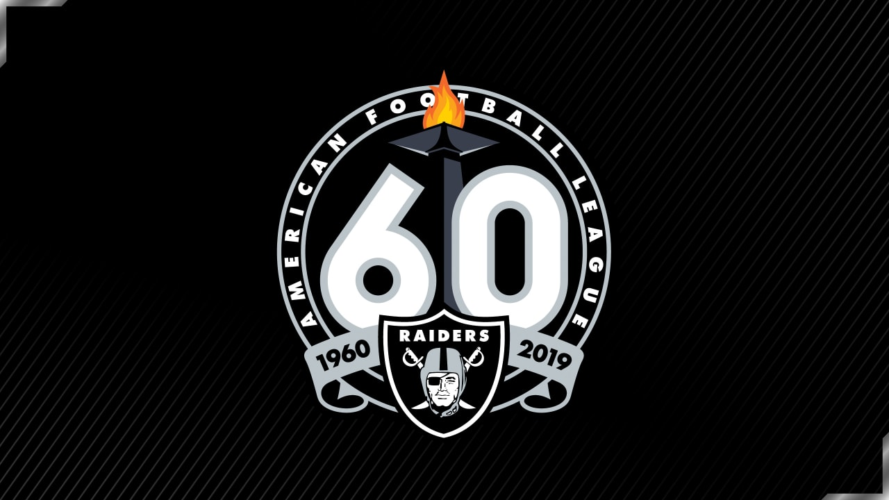 Raiders release 60th season logo.