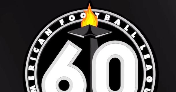 Oakland Raiders release 60th anniversary logo.