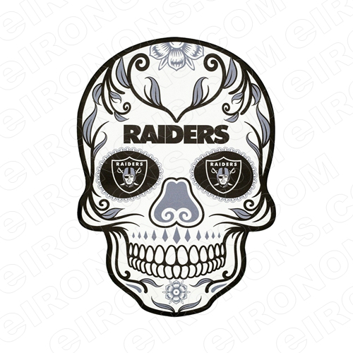 OAKLAND RAIDERS SKULL LOGO SPORTS NFL FOOTBALL T.