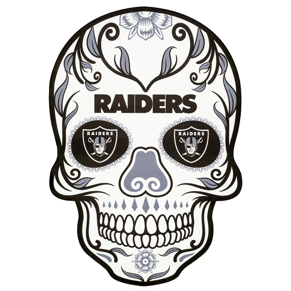 NFL Oakland Raiders Outdoor Skull Graphic.