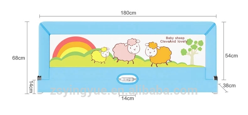 Baby Products Safety Bed Rail / Safety Baby Bed Rail / Bed Side.