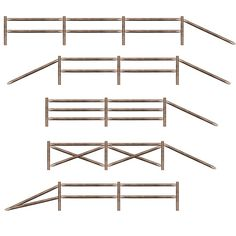 Clipart split rail fence.