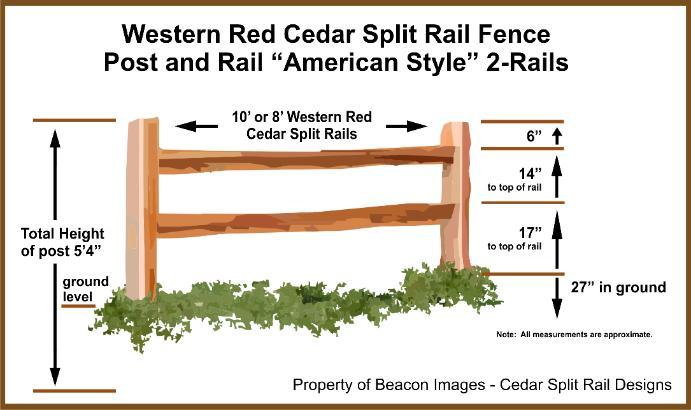 Clipart Split Rail Fence.