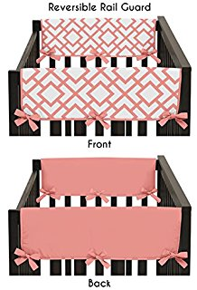 Amazon.com : Sweet Potato Rail Guard, Lulu, Long : Crib Rail.