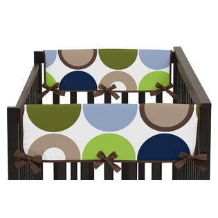 Sweet Jojo Designs Side Crib Rail Guard Covers for the Designer.