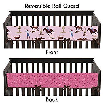 Amazon.com : Western Cowgirl Long Front Rail Guard Baby Girl.
