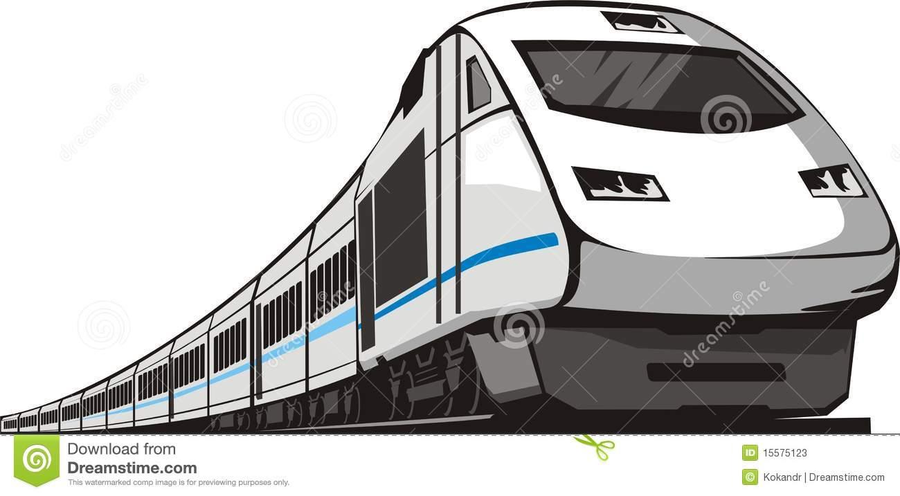 Passenger Train Stock Photos.