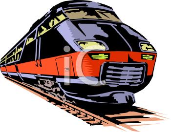 Fast Passenger Train.