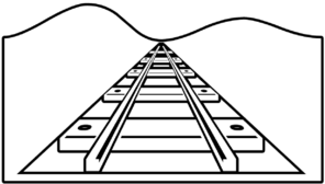 Railroad Outline Clip Art at Clker.com.