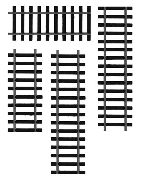 Railroad Tracks Clipart.