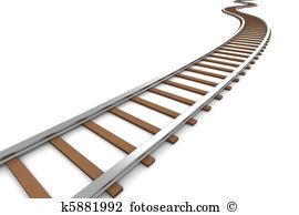 Railroad track Clip Art and Stock Illustrations. 1,817 railroad.