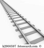 Railroad track Clip Art and Stock Illustrations. 1,842 railroad.