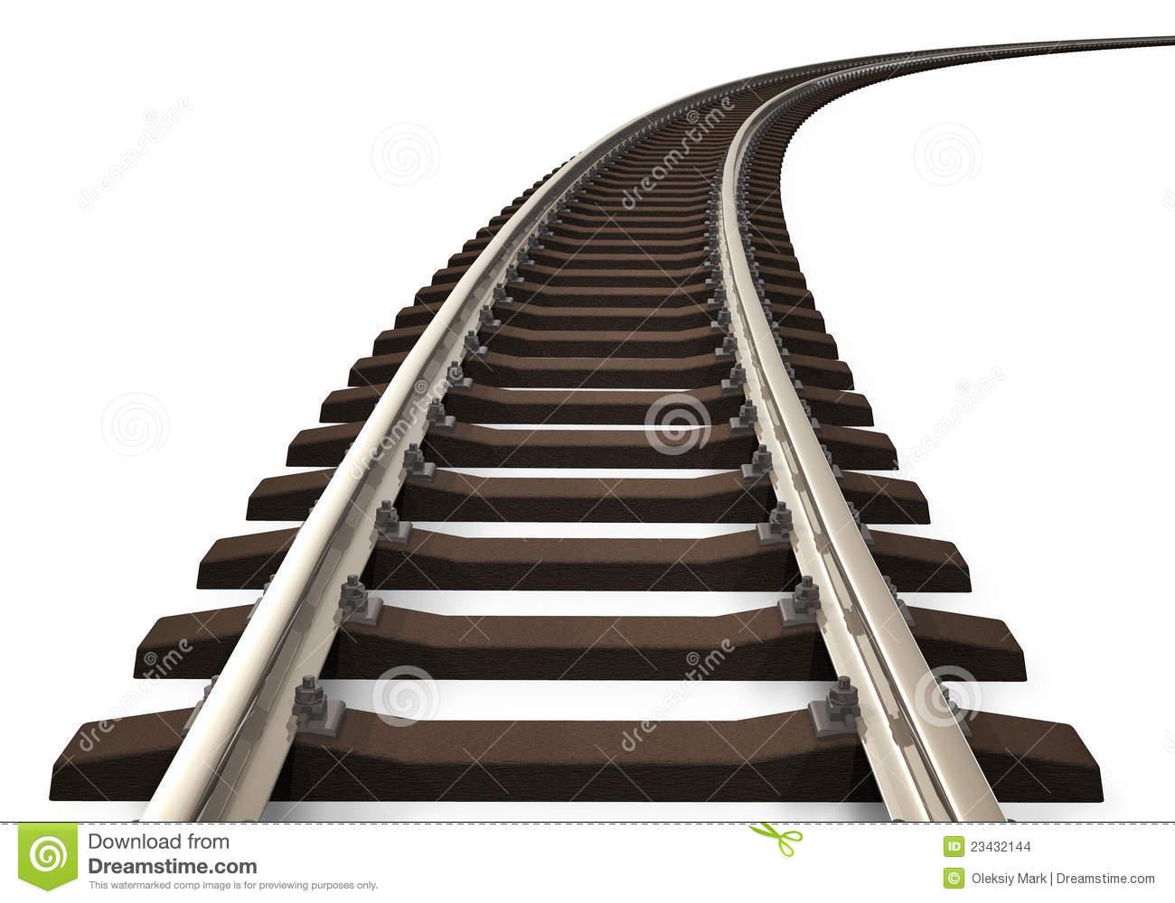 Rail Track Clipart.