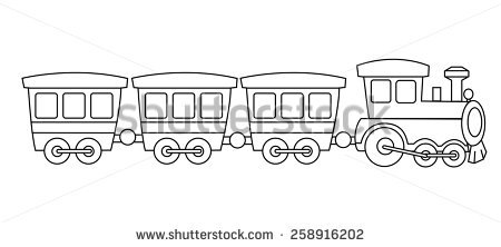 Steam Train Engine clip art Free vector in Open office drawing svg.