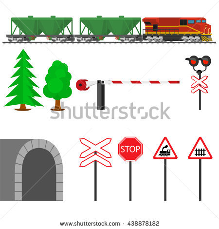 Railway Signal Stock Photos, Royalty.