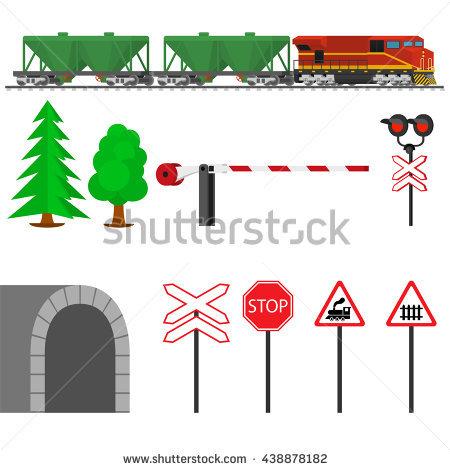 Railway Signal Stock Photos, Royalty.